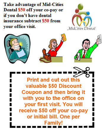 Dentist Hurst Discount Coupon